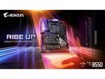 GIGABYTE、AMD B550チップセットを搭載マザーボードを発表