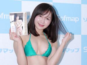 攻めるシーンにギャップ萌え! 癒やし系の26歳・京谷あかりが1st DVD