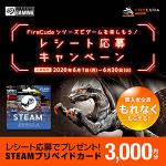 FireCuda SSD購入でSteamカード3000円分がもらえる、日本シーゲイト