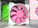 ピンク色の目立つ120mmファンが発売、ARGB LEDも搭載