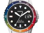 FOSSIL、プライドカラーの限定ウォッチを発売