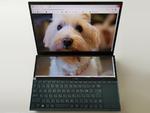 2画面な「ZenBook Duo」をダイニングテーブル専用原稿書きマシンとして衝動買い!