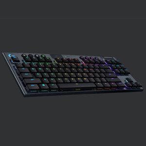 ロジクールGの薄型・無線ゲーミングキーボードに待望のテンキーレス「G913-TKL」登場、「LIGHTSPEED」にも対応