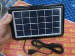 いざという時に太陽でスマホを充電! シンプルな1100円のソーラーパネル