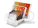 USB充電器を収納して充電スタンドとして使えるスマホ・タブレット用スタンド