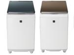 シャープ、AIoTクラウドサービス「COCORO WASH」対応の洗濯乾燥機