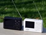 ワンセグTVやラジオなど、災害時に役出つ7機能を備える「エコラジ7」