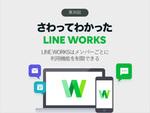 LINE WORKSはメンバーごとに利用機能を制限できる