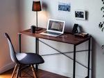 テレワークや書斎デスクとして使えるシンプルなデスク サンワサプライから