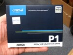 Crucialの定番NVMe M.2 SSD「P1」に2TBモデルが追加