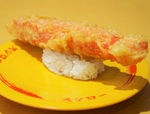 「スシロー」特大カニカマ天にぎり、マウンテン寿司など