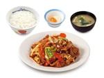 【本日発売】松屋、選べる小鉢の「お肉たっぷり回鍋肉定食」