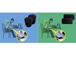 PC作業時の肘にかかる負荷を軽減できる低反発クッション エレコムから