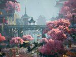 『黄昏ニ眠ル街』東洋の世界観で描かれる3D探索アドベンチャーが2021年の発売を発表