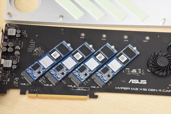 M.2 SSDを手軽に4枚増設!Gen 4対応拡張カード「HYPER M.2 X16 GEN 4 CARD」を試す