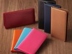 銀付革を100%使用した手帳型スマホケース3色が40%オフの4818円