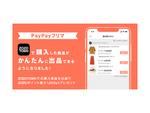 PayPayフリマとZOZOTOWNが連携、ZOZOTOWNで購入した商品を簡単に出品