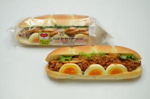 セブン‐イレブン、たんぱく質20g以上が採れるサンドイッチ・ロールパン
