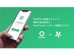 OKIPPAアプリ、カレンダーシェアアプリTimeTreeと連携