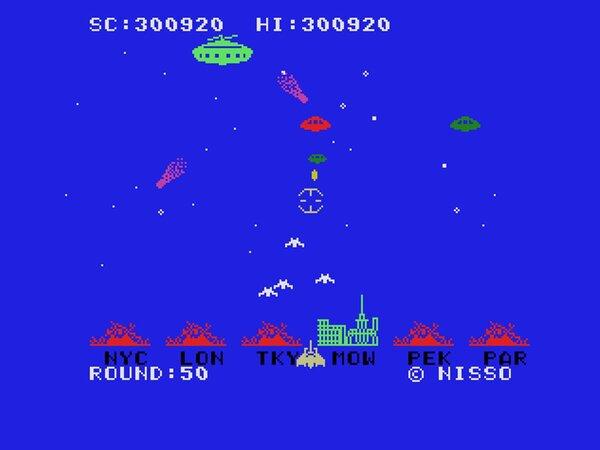 都市防衛型STG『メガロポリスSOS(MSX版・Windows 10対応版)』が『プロジェクトEGG』で無料配信!