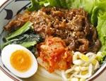 丸亀製麺に2つの「牛焼肉冷麺」登場!焼き立てお肉とキムチがそそる
