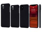 超極薄0.65mmのアラミド繊維を備えたiPhone 11/Pro用ケース