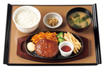 やよい軒、ハンバーグ定食をリニューアル。てりマヨ、デミグラス、チーズ