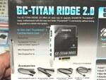 Intel 400チップセット搭載GIGABYTE製マザー専用のThunderbolt 3カード