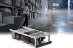 シャープ、製品や荷物を無人で搬送する自動搬送装置「TYPE LC」