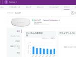 「NETGEAR Insightクラウドポータル」で社内LANの使用状況を見る
