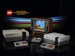 スーパーマリオの世界をレゴブロックで再現できるセット NES本体やレトロなテレビも