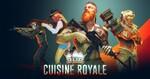 キッチン用品を装備して戦うバトルロイヤルゲーム「Cuisine Royale」、事前登録開始