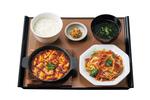 やよい軒「回鍋肉と麻婆豆腐の定食」「レバニラ炒めとから揚げの定食」