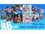 PS Store「SUMMER SALE」でディースリー・パブリッシャーのゲームがお買い得価格で手に入る!