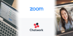 Chatworkが「Zoom」と連携、招待リンクとパスワードの同時生成に対応
