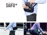 究極の身軽さを追求! バッグのように身につける財布