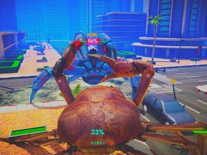 """神ゲーならぬ""""カニゲー""""?! カニ同士が熾烈な闘いを繰り広げる「カニノケンカ」は旨味たっぷりの3D格闘ゲーム"""