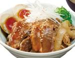 松屋「牛×豚角煮×味玉」のスタミナ丼!夏を乗り切ろう