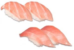 かっぱ寿司「本鮪 大とろ・中とろ」がお値段そのままで二貫に!