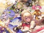 3D爽快バトルRPG『メガミヒストリア』本日正式リリース開始!