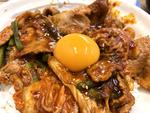 松屋の豚キムチ丼、いのちの輝きを得るには味が濃すぎる
