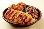 オリジン弁当で「肉トリプル丼」焼肉×とんかつ×唐揚げでボリューム満点