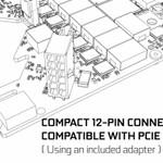 NVIDIA、次期GPU搭載カード採用とウワサの12ピン補助電源コネクターをチラ見せ、8ピン互換あり