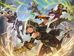魔法系バトルロイヤルゲーム『スペルブレイク』が9月3日に全世界で正式サービス開始!