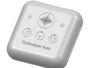 赤ちゃんの泣き声から感情を見抜く「CryAnalyzer Auto」は子供の成長発達もサポート