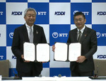 NTTとKDDIが社会貢献で連携 災害復旧でケーブル敷設船の相互運航も