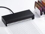 スマホやタブレットを20台まとめて充電できるUSB充電器