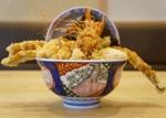 かつやの天丼専門店「天丼はま田」二号店がオープン 大きなアナゴに歓喜!