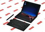 レノボが世界初の2つ折りモバイルPC「ThinkPad X1 Fold」発売 = 実機写真レポート