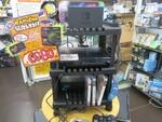 ゲーム機やソフトの収納だけでなく、HDMI切替器や電源タップも合体する便利なゲーム用ラック